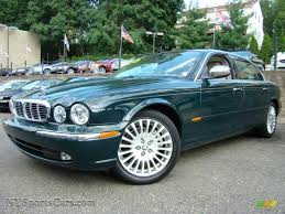 british racing green 2005 jaguar xj vanden plas in british racing green metallic