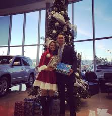 lexus of edmonton used cars of christmas shoe box campaign