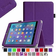 android tablet cases fintie premium pu leather cover with stylus holder for