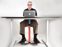 Walking Laptop Desk by Hovr Unconsciously Burn More Calories At Work Gadget Flow