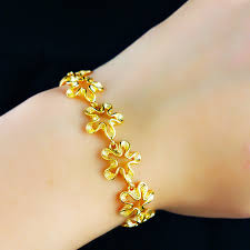 gold bracelet pendant images Wholesale high quality fashion 24k gold bracelet men jewelry jpg