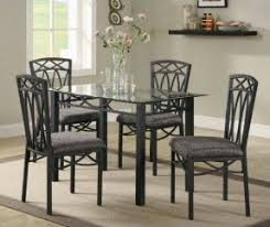 glass pub table and chairs foter