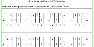 addition and subtraction ks2 reasoning test practice classroom