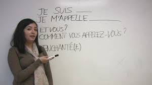 french for beginners introducing yourself in french youtube