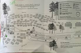 grand map lodging map with cabin numbers picture of grand lodge