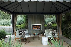 Woven Outdoor Rugs Outside Fireplace Designs Patio Transitional With Container Plant