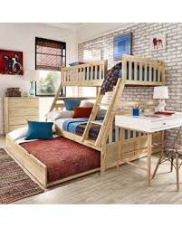 White Pine Bunk Beds Deal Alert Wood Bunk Bed By Inspire