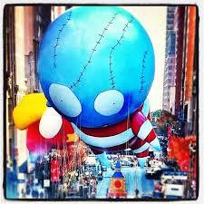 tim burton s thanksgiving day parade balloon the sue