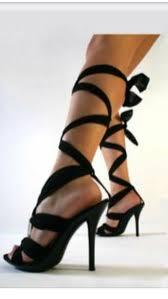 ribbon heels black ribbon lace up high heels on the hunt