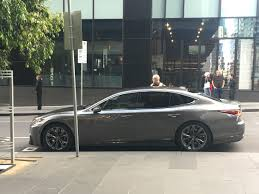 lexus melbourne used cars 2018 lexus ls caught while filming commercial in melbourne
