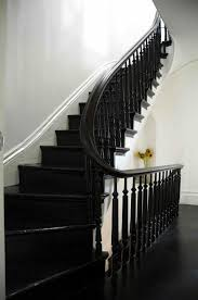 best 25 black painted stairs ideas on pinterest black staircase