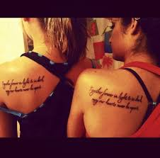friend tattoos friendship quotes tattoos for girls pin best