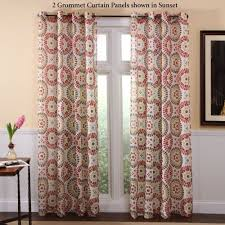 grommet curtains and tab panels touch class