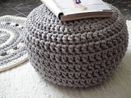 Crochet Ottoman Pattern Best 25 Crochet Floor Cushion Ideas On Pinterest Crochet Pouf