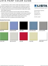 download lista paint color chart for free tidyform