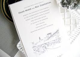 carlton wedding invitations cleveland skyline wedding invitations