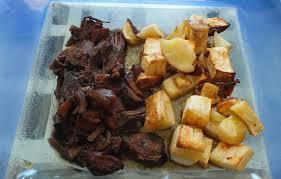 cuisiner le paleron paleron d une nuit aux agrumes panais rôtis a boire et à manger