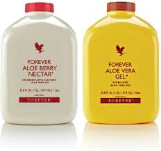 forever aloe vera gel and nectar pack of 2 price in india buy
