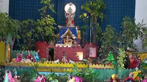 Sri Krishna Janamashtmi Jhanki at Lucknow by Dr K C Mathur