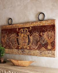 painted wood wall decor horchow