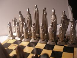 about mid century and cool chess sets trends including