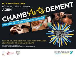 chambre de m iers agen exposition chamb artsdement à agen du 6 avril au 8 avril 2018