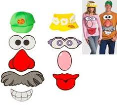 Diy Sew Potato Head Costume Costume Potato Head Face Printables Google