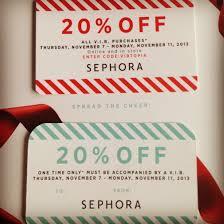 gift cards at a discount sephora vib 20 november 7 11 2013