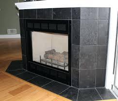 ceramic tile fireplace surround pictures cost corner slate design