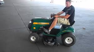 quality farms and country riding lawn mower youtube