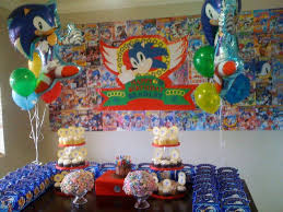 sonic the hedgehog party supplies sonic the hedgehog birthday party ideas photo 9 of 13 catch my party