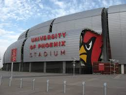 University Of Arizona Parking Map by University Of Phoenix Stadium Parking Arizona Cardinals Parking