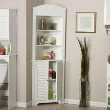 small white corner cabinet for kitchen riverridge home corner cabinet small bathroom shelves