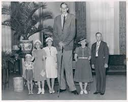 8 feet in inches the tallest man in medical history stood almost nine feet tall