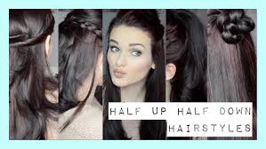 hairstyle ph quick easy half up half down hairstyles ohhitsonlyalice youtube