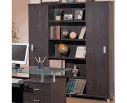Contemporary Bookcase With Doors Book Shelf Accessories Discount Furnture Dallas Designer