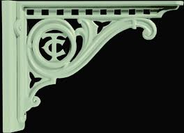 crapper ornamental cast iron w c seat brackets