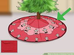 christmas skirt how to choose a christmas tree skirt 11 steps with pictures