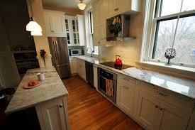 How To Remodel A Galley Kitchen Kitchen Galley Kitchen Remodel To Open Concept Kitchen Shelving