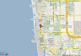 map of naples fl map of hton inn naples central fl naples