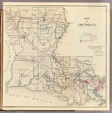 Maps Of Louisiana Louisiana David Rumsey Historical Map Collection