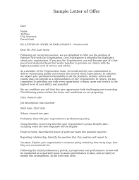 doc 572739 offer letter sample u2013 job offer letter template for