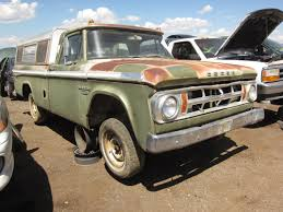 Vintage Ford Truck Junk Yards - junkyard find 1968 dodge d 100 adventurer pickup the truth
