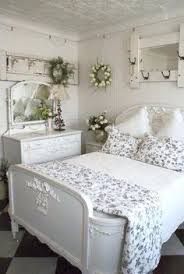 vintage shabby chic bedroom furniture and beddings above the