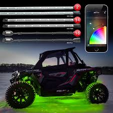 app controlled car lights xkchrome ios android app bluetooth smartphone control accent light