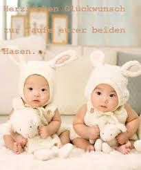 spr che zur geburt zwillingen lustige glückwünsche zur taufe