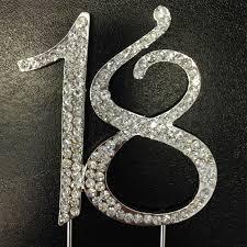 bling cake toppers rhinestone cake topper 18