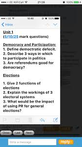 edexcel government u0026 politics unit 2 governing the uk 09 06 16
