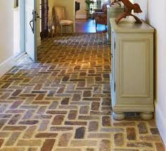entryway flooring with brick floor tile home ideas