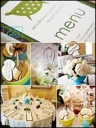 kitchen bridal shower ideas 43 best cooking themed bridal shower images on themed